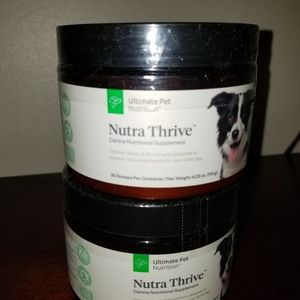 ULTIMATE PET NUTRITION. NUTRA TRIVE.NEW